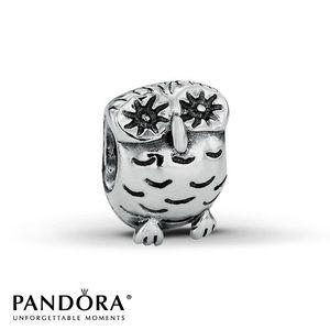 Authentic Pandora Owl Bead🦉